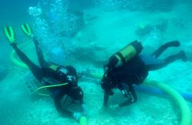 Underwater archaeology at Marzamemi Maritime Heritage project in Italy