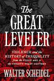 The cover of the book The Great Leveler by Walter Scheidel