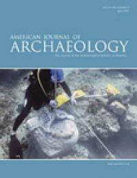 Cover image of American Journal of Archaeology