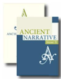 cover image of Ancient narrative journal